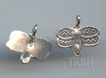 Thai Karen Silver Little Bee Charm NS125