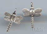 Thai Karen Silver Little Dragonfly Charm NS122