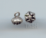 Thai Karen Silver Cute Bud Flower Charm NS175