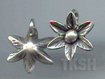 Thai Karen Silver Cute Star Flower Charm NS169