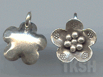 Thai Karen Silver Little Daisy Flower Charm NS172