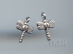 Thai Karen Silver Little Dragonfly Charm NS121