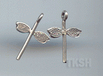 Thai Karen Silver  Little Dragonfly Charm NS123