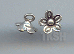 Thai Karen Silver Little Flower Charm NS162