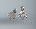Thai Karen Silver Little Leaf Charm NS131