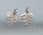 Thai Karen Silver Little Leaf Charm NS132