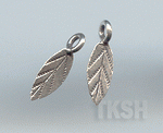 Thai Karen Silver Little Leaf Charm NS133