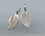 Thai Karen Silver Little Leaf Charm NS134
