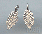 Thai Karen Silver Little Leaf Charm NS135
