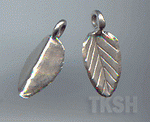 Thai Karen Silver Little Leaf Charm NS136
