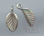 Thai Karen Silver Little Leaf Charm NS137