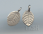 Thai Karen Silver  Little Leaf Charm NS138