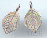 Thai Karen Silver Little Leaf Charm NS139