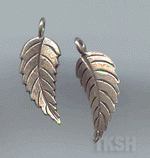 Thai Karen Silver Little Leaf Charm NS141