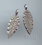 Thai Karen Silver Little Leaf Charm NS142