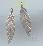 Thai Karen Silver Little Leaf Charm NS143