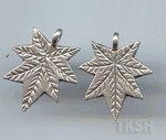 Thai Karen Silver Little Leaf Charm NS149