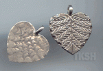 Thai Karen Silver Little Leaf Charm NS154
