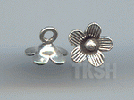 Thai Karen Silver Sweet Flower Charm NS161
