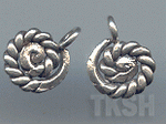 Thai Karen Silver Twist Charm NS110