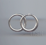 Thai Karen Silver Plain Ring RR150