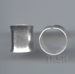 Thai Karen Silver Plain Ring RR168