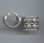 Thai Karen Silver Printed Ring  RR162