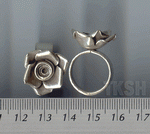 Thai Karen Silver Sweet Rose Ring RR011