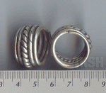 Thai Karen Silver Wire & Middle Twist Ring  RR069