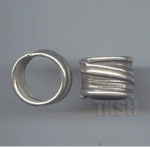 Thai Karen Silver Wired Ring RR165